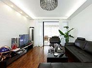 现代简约二居室客厅装修图参考