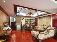 中式客厅古典大气装修效果图欣赏