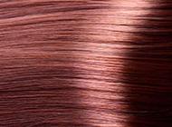 柔顺红色短头发背面背景图片