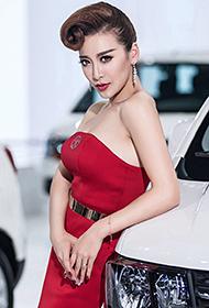 广州车展模特瑶瑶高清图片曝光