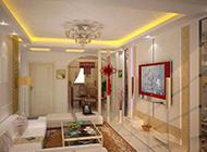 现代古典中式客厅装修效果图大全