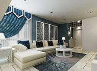 清新简约的地中海风格客厅装修图片