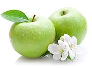 硕大诱人的青苹果图片