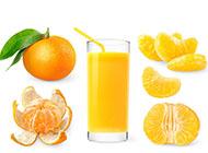 夏日消暑佳品橙子图片