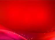 ppt红色背景图片质感线条素材