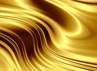 金色金属曲线背景房间图片大全