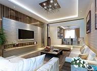 客厅现代简约时尚装修效果图欣赏