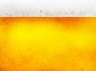 黄色啤酒液体创意背景高清图片
