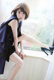 日本女星桥本奈奈未性感狂野写真