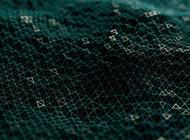 几何矢量绿色背景图