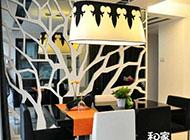 85平方米时尚创意二居室婚房装修效果图