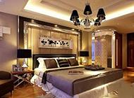 中式现代别墅卧室装修效果图大全