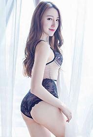 爱蜜社性感女神刘奕宁清纯诱惑私房照