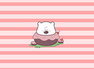 可爱的小囧熊唯美卡通图片赏析