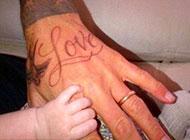 明星贝克汉姆纹身图片大全