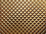 立体三角形菱格金属背景图片