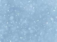 雪花飞舞高清背景图片