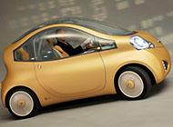 玲珑小巧的小汽车图片