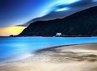 大自然唯美沙滩清晨梦幻风景大图