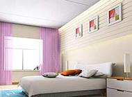 小户型精美卧室窗帘图片