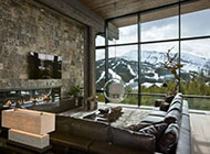 全木质元素打造的高端奢华别墅组图