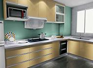 简约现代厨房装修效果图明亮整洁