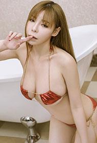 尤果网谭晓彤性感图片身材超惹火
