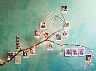 个性创意相片墙设计图片