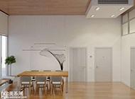清爽大气个性大空间家居装修设计图