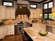 别墅欧式厨房装修效果大方奢华