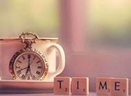 复古时钟怀表浪漫淡雅风格背景素材