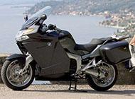 极品情侣与摩托车图片素材