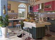 地中海厨房装修效果图浪漫精美
