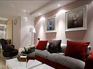 二居室混搭温馨简约装修效果图