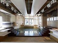 东京老旧泳池改造创意精品展示店组图