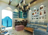 客厅吊顶地中海风格装修设计
