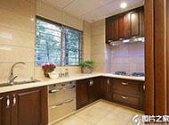 时尚且实用大户型厨房装修效果图大全