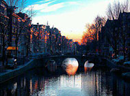 浪漫欧洲异域城市风景图片素材