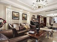 最美的欧式客厅装修效果图典雅高贵