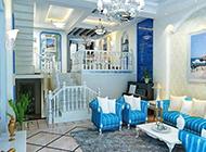 地中海客厅简单时尚装修效果图大全