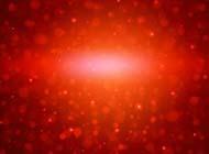 红色大气梦幻光斑背景图