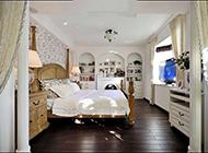 美式田园卧室装修简单淡雅