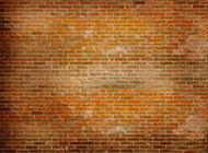 精选黄砖墙背景图片素材