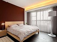 现代简约卧室明亮温馨装修效果图欣赏