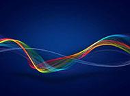 背景动感波形图案设计图片素材