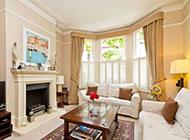 别墅欧式室内客厅设计装修图片