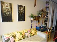 小户型客厅中式优雅别致装修效果图