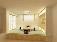 小户型现代简约榻榻米床装修效果图