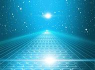 蓝色宇宙背景高清背景图片