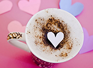 好看唯美的咖啡图片素材